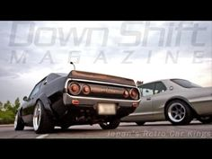 Japan's Retro Car Kings - Saving Classic Japanese Automotive Culture. There are some awesome rides in this 43min vid. The black Ken Mari Skyline - oh, my...