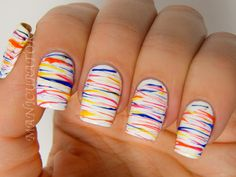 manicurator: The Nail Challenge Collaborative NEON month with Nicole by OPI, OPI and KBShimmer