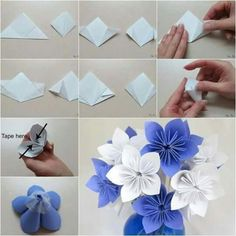 How to fold cute diy kusudama paper craft flower pinterest sweetness in the form of flowers mightylinksfo