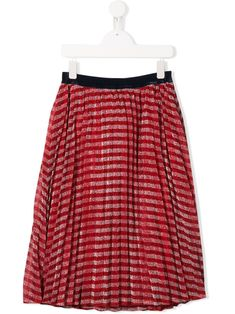 LITTLE MARC JACOBS offers a stylish and bouncy collection for the younger set. This skirt features a striped pattern, glitter details, an velvet waistband and a flared style. Little Marc Jacobs, Flare Skirt, World Of Fashion, Kids Girls, Luxury Branding, Girl Outfits, Teen, Velvet, Stylish