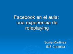 Experiencia en el aula con Facebook. Alumnos de 4º de ESO del IES Castellar trabajan la Generación del 27 adoptando el rol de los escritores que la formaron.
