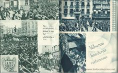 Militaria: LIBRO 52 PAG. DE - ESTAMPAS DE LA GUERRA CON MAS DE 214 FOTOS ALGUNAS INEDITAS EDIT. ZARAGOZA 1937 - Foto 10 - 50755806