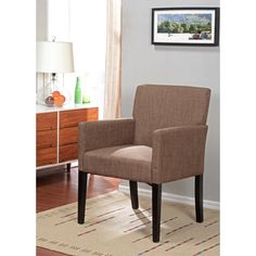 K&B AC7037 Club Chair | Overstock.com Shopping - Great Deals on Chairs