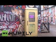 Germany: Check out the world's smallest disco inside a Berlin phone box (2:30)