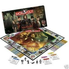 #Narnia Narnia Monopoly  A Narnia Monopoly game...how awesome is that?
