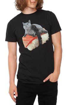 Cat Sushi T-Shirt | Hot Topic