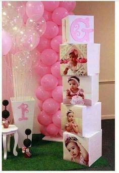 fish first birthday Princess Birthday Party Decorations, 1st Birthday Party For Girls, Baby First Birthday, Baby Party, Baby Shower Themes, Baby Shower Decorations, Baby Shower Princess, Birthday Balloons, First Birthdays