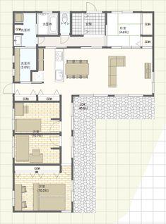 Home Decorators Hazelwood Mo Sims House Plans, Modern House Plans, Small House Plans, Traditional Japanese House, House Stairs, House Layouts, House Rooms, Floor Plans, House Design