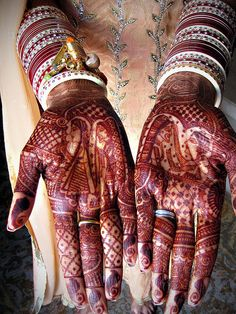 Pre-Wedding Rituals: Bridal Mehndi by Live4sports, via Flickr