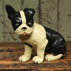 Cast Iron Lonnie the Boston Terrier - Hudson and Vine