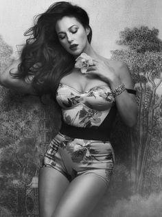 """Monica Bellucci and Dolce & Gabbana"" - Vanity Fair Italy May 2012 - Monica Bellucci - Signe Vilstrup"