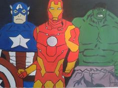 #marvel #ironman #captainamerica #hulk