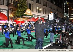A day in the life of a Macy's Parade marching band