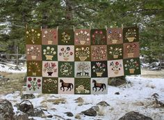 Tom Miner Quilts and Folk Art: The Emily Munroe Quilt