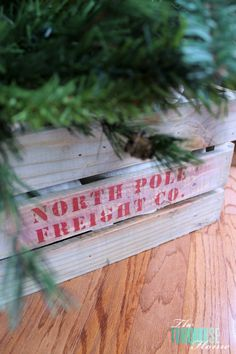 How to build a crate tree skirt