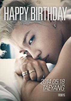 Happy Birthday to my dearest Taeyang!!! :D