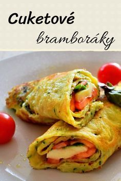 Low Carb Recipes, Diet Recipes, Vegetarian Recipes, Cooking Recipes, Healthy Recipes, Lunches And Dinners, Meals, European Cuisine, Czech Recipes