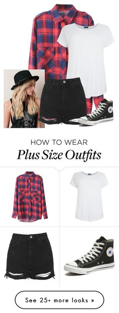 """Untitled #503"" by imsarathepanda on Polyvore featuring Topshop, Converse, women's clothing, women's fashion, women, female, woman, misses and juniors"