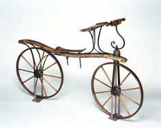 Hobby horse, copy, Germany – first registration 1818 . Recycled Furniture, Handmade Furniture, Antique Bicycles, Bicycle Workout, Bicycle Women, Hobby Horse, New Inventions, Old Bikes, Electric Bicycle