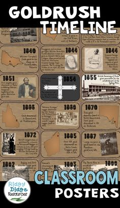 These high quality posters, linked to the Australian curriculum, feature 17 key events that shaped t Eureka Stockade, Australia School, Australian People, Teaching Secondary, Teaching History, Primary History, Lesson Planner, Australian Curriculum, Interactive Whiteboard