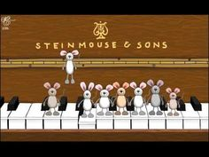 Happy Birthday musical mice... what fun it would be to begin a class tradition of playing this on each child's birthday!