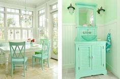 Image detail for -The turquoise color is a perfect shade of blue to match the white ...