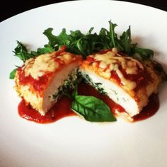 Chicken Rollatini with Spinach alla Parmigiana www ...