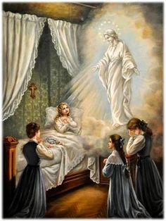 Catholic Prayers, Catholic Art, Catholic Saints, Religious Art, Roman Catholic, Sainte Therese De Lisieux, Ste Therese, Blessed Mother Mary, Blessed Virgin Mary