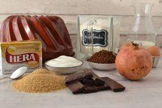 Valentýnská čokoládová bábovka s granátovými jablky – Bohyně kuchyně Bread, Brot, Baking, Breads, Buns