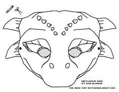 Print these Free Dinosaur Masks