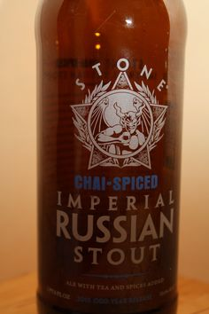 Stone - Chai Spiced Imperial Stout