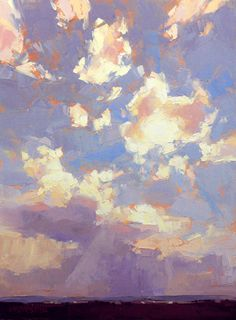 Wind for Deliverance or One instance of the splendor that is commonly overhead  by David Mensing  Oil on canvas  24 x 18