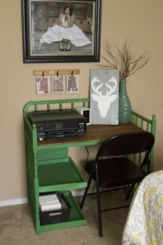 The sad time has come for us to retire our changing table. I couldn't bear to get rid of it, it holds such a special place in my heart as we have used it for bo…