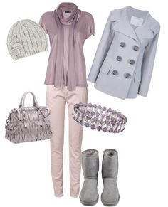 """""""Type 2 winter lilac"""" by kristi-verhagen-dugan ❤ liked on Polyvore"""