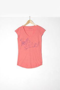 "Woman t-shirt S|S ""Hello Sailor"""