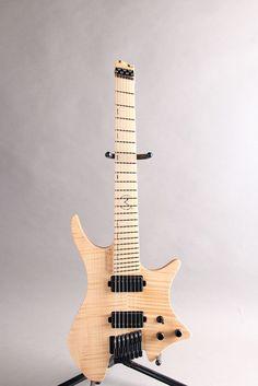 ".strandberg[ストランドバーグ] Boden OS CL7 Chris Letchford"" Signature Natural|詳細写真 Unique Guitars, Custom Guitars, Guitar Amp, Cool Guitar, Guitar Modes, Beautiful Guitars, Electric Guitars, Musical Instruments, Bass"