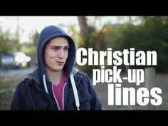 "Christian Pickup Lines. Pretty hilarious. ""Did it hurt when you fell from heaven?"""