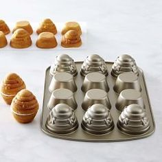 Shop Williams Sonoma's collection of Nordic Ware bakeware. Our selection also features Nordic Ware cookware, and the latest bundt and cake pans from Nordic Ware. Beehive Cupcakes, Bee Party, Honey Recipes, Bee Theme, Baking Supplies, Bees Knees, Baking Tips, Cake Pans, Let Them Eat Cake
