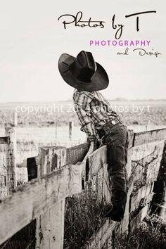 Young boy western country bw www.photosbyt.net