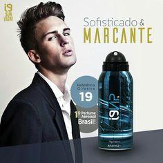 Perfumes i9life com a tecnologia em aerosol.