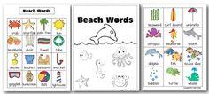 Beach Words Freebie :)