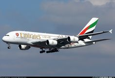 Emirates A6-EES Airbus A380-861 aircraft picture