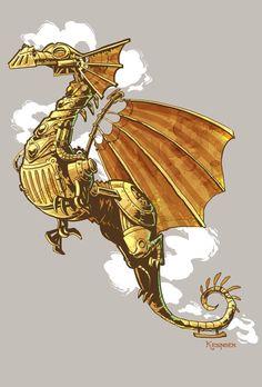 Brian Kesinger Dragon