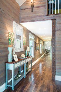 coastal hallway | David L. Smith Interiors