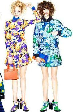 """""""Pop Girls Groove"""" by Matt Irwin for Vogue Japan September 2015"""