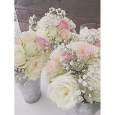 "30 Likes, 1 Comments - Nicolette Weddings (@nicoletteweddings) on Instagram: ""Georgous bridemaids' bouquets for Nicole and Ian's wedding this weekend! Pastel and light pink…"""