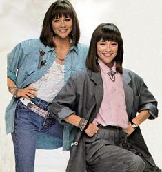 1980s tv shows | Double Trouble - Jean Sagal And Liz Sagal - Sitcoms Online Photo ...