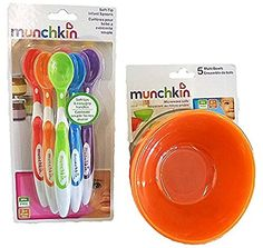 Munchkin 5 Pack Bowl and 6 Pack Spoon Set for baby/toddle... https://www.amazon.com/dp/B01DWEE038/ref=cm_sw_r_pi_dp_U_x_4ooWAbA2SHRDY