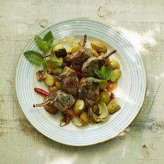 Ein Fleischrezept im Stil der Provence, das sommerlich und einfach zuzubereiten…