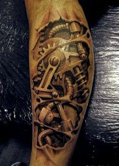 Coole Tattoos 3D – inspirierende Motive und Designs -